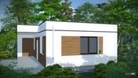 Архитектурный проект комфортной бани в современном стиле